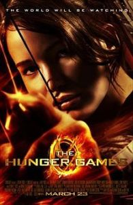 poster for The Hunger Games movie